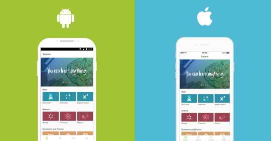 Khan Academy brings its free learning to Android