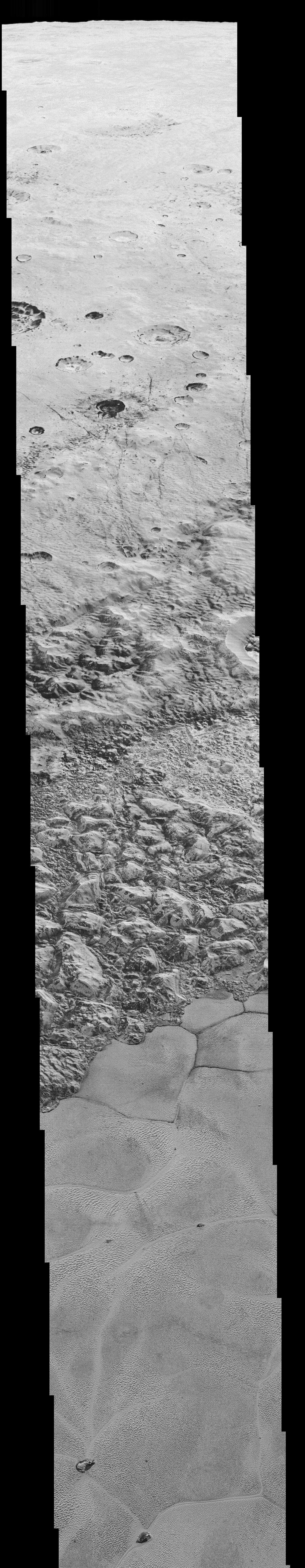 NASA shows the sharpest ever close-up photos of Pluto