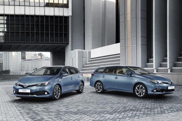 トヨタ、マイナーチェンジを施した欧州仕様「オーリス」の画像を公開