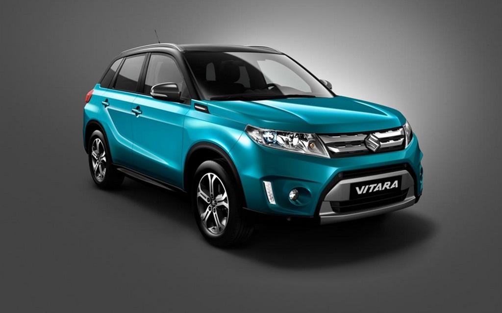 Auto salon Paris, Pariser Auto salon, Suzuki Vitara, der neue Suzuki Vitara, IV4-Concept, revelaed, debut, premiere, offiziell, Suzuki Vitara 2015,