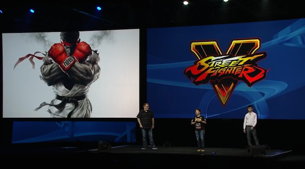 Street Fighter 5 'built from the ground up for PlayStation'