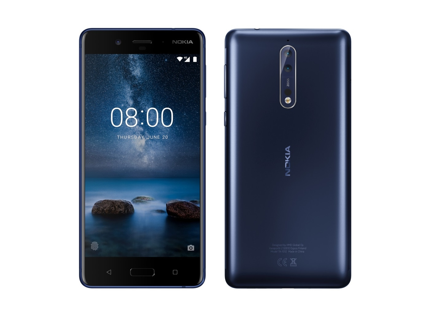 El Nokia 8 se deja ver con sus dos cámaras Zeiss