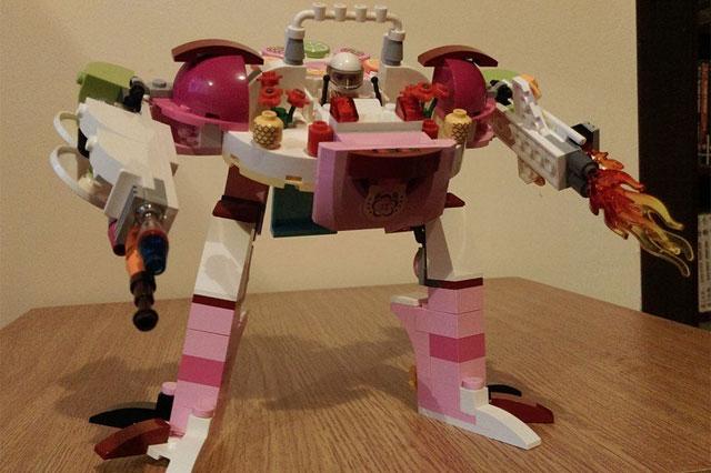 lego friends juice bar set transformer
