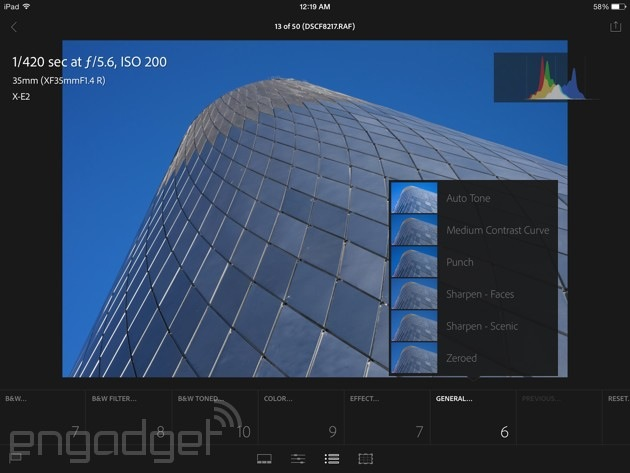 Lightroom mobile review: Adobe brings (most of) its digital darkroom to the iPad