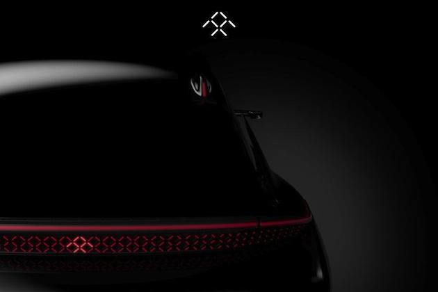 サイドミラーではなくサイドカメラ! ファラデー・フューチャーが新型EVの新たなチラ見せ画像を公開