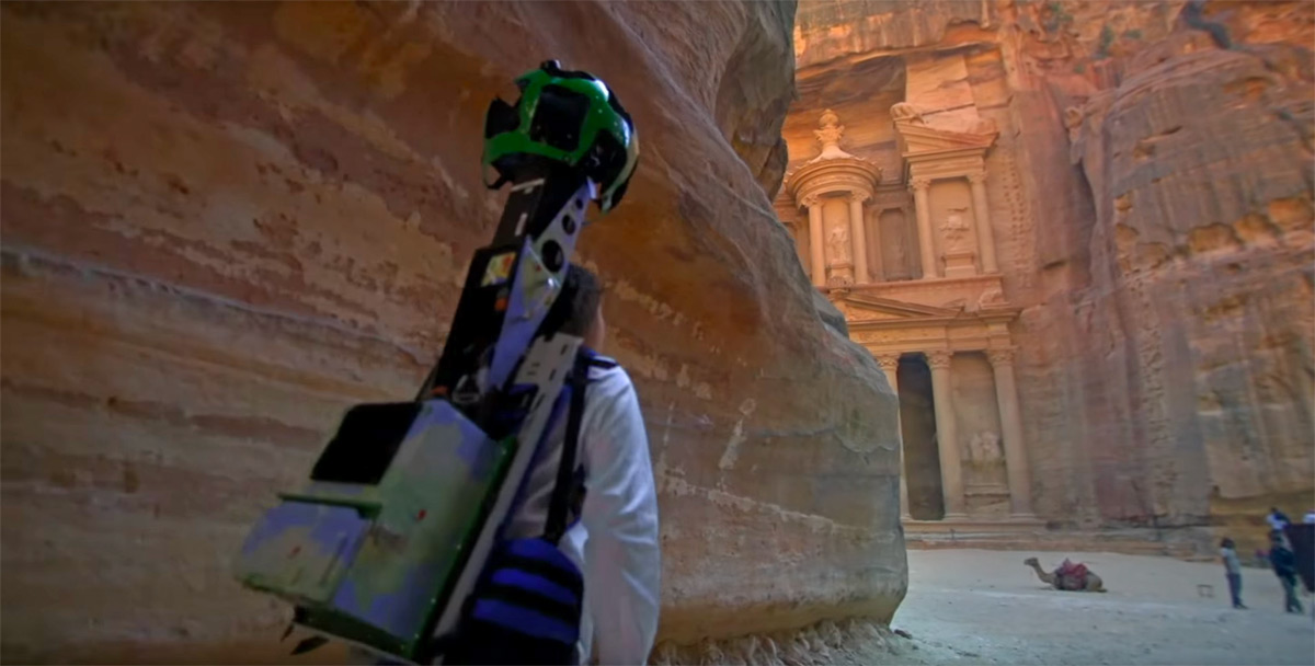 Google Street View gives you a tour of ancient Jordan landmarks