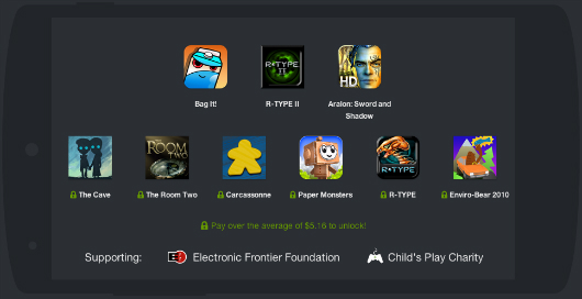 Humble Mobile Bundle 5 adds Enviro-Bear, R-Type, Paper Monsters