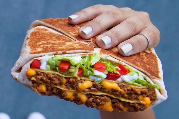 ranking taco bell menu items, triple double crunchwrap