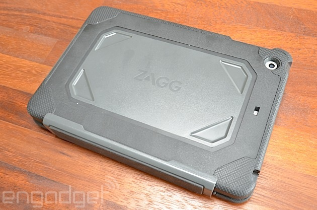 ZAGG Rugged Folio for iPad mini keyboard case accessory