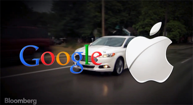 Apple vs Google in the car