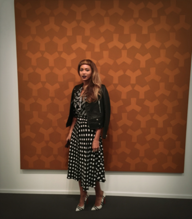 Beyonce and Jay-Z visit London art galleries