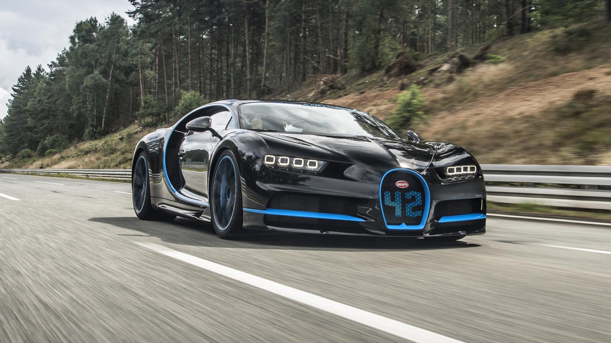 Bugatti Chiron stellt neuen Weltrekord auf