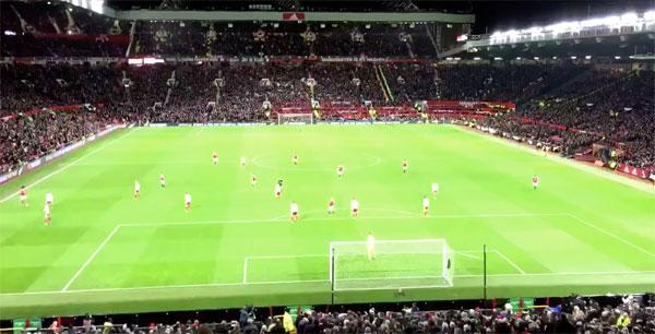 マンチェスター・ユナイテッドの「あまりにもつまらない試合」を15秒にまとめたタイムラプス映像が話題に