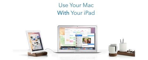 iPadをMacのセカンドモニタ化するアプリDuet Display、有線接続で低遅延