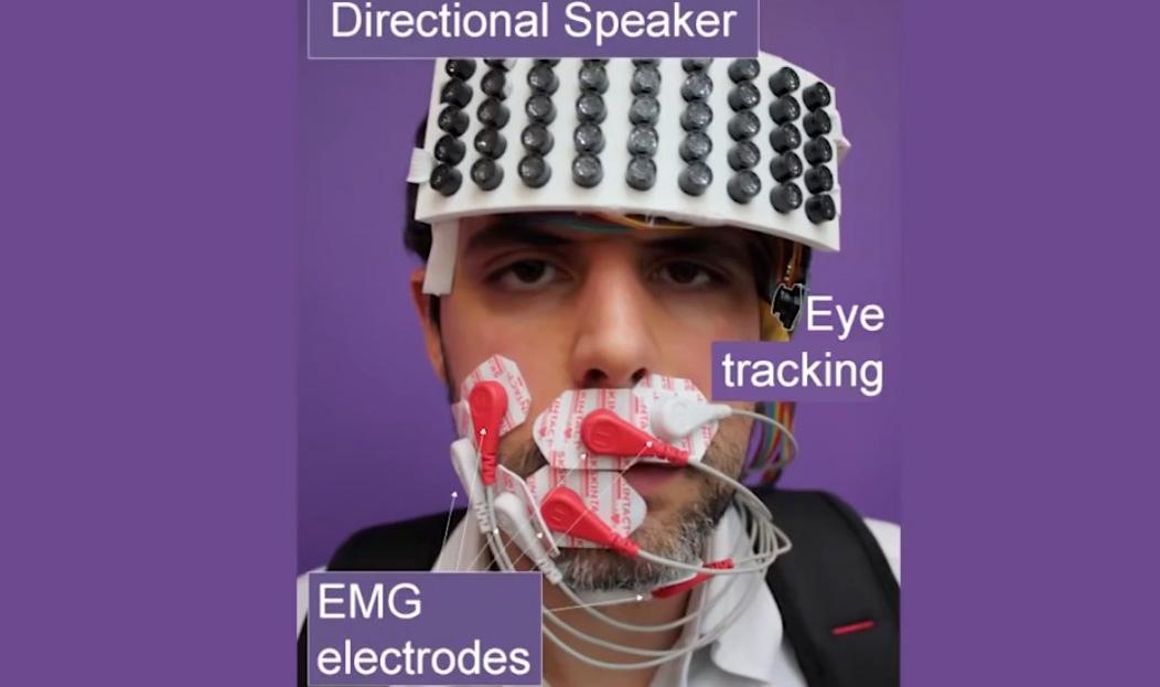 Ultraschall-Flüstern für öffentliche Geheimgespräche