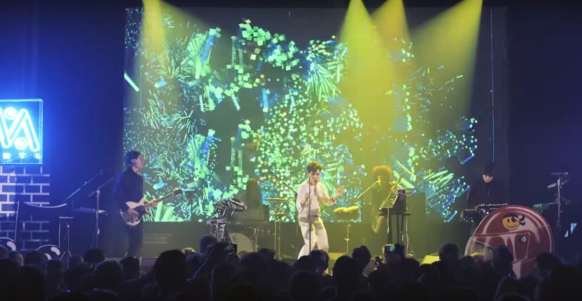 Watch how Neon Indian used Kinect for its latest concert