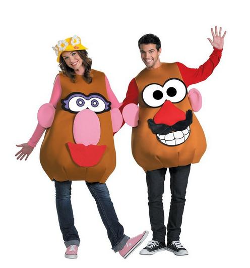 Mr. and Mrs. Potato Head Costume