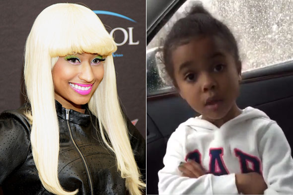 Nicki Minaj turns six-year-old fan into overnight star
