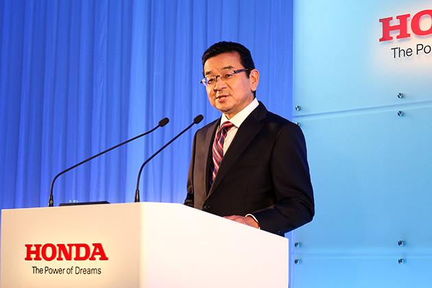 ホンダ、新体制が始動 八郷社長が掲げる「2つのテーマ」で新しいホンダへ