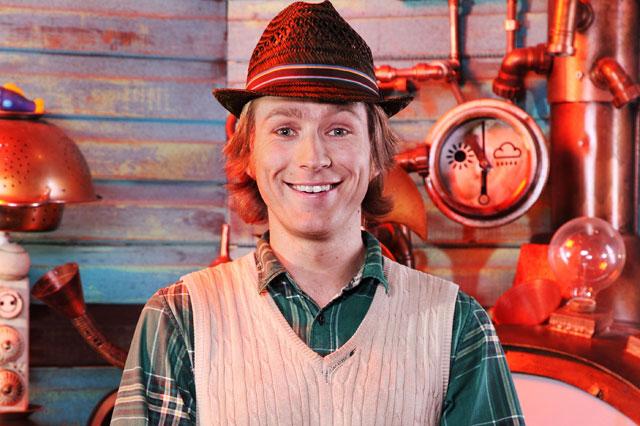 Cbeebies presenter Mr Bloom