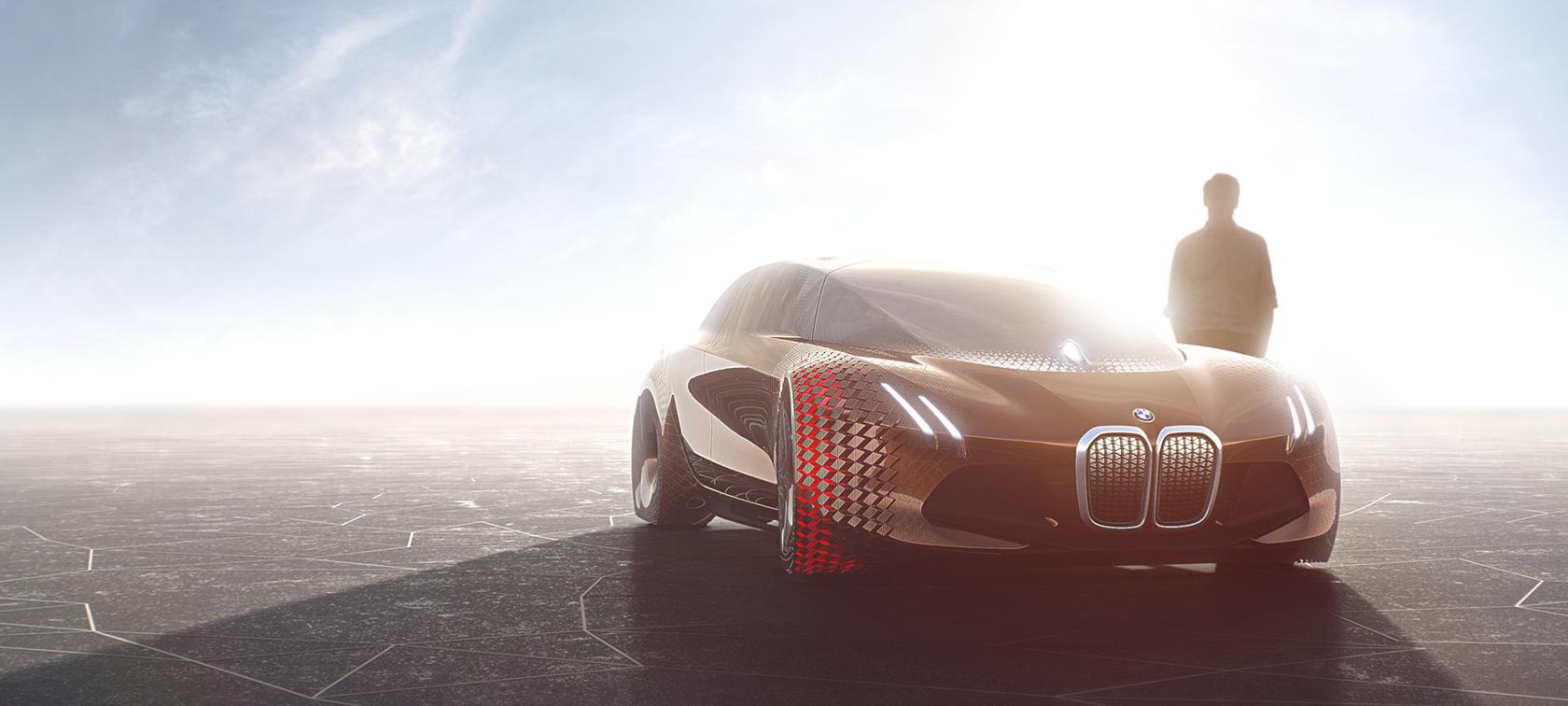 El futurista coche autónomo de BMW llegará en 2021