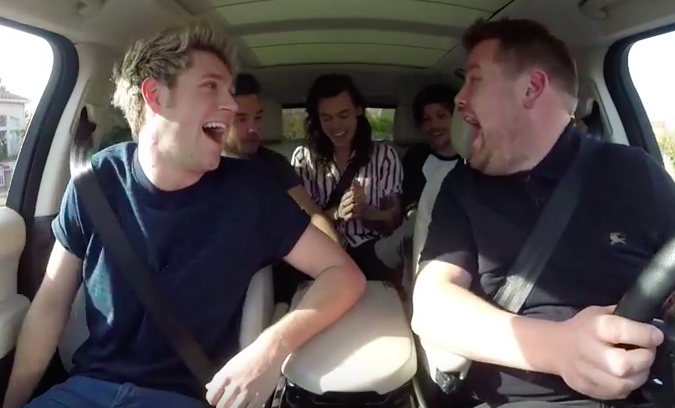 one direction carpool karaoke teaser videos