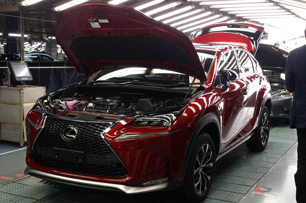 Lexus NX production