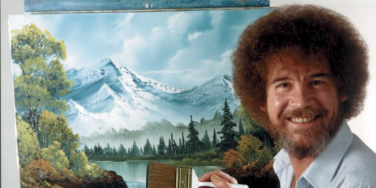 Watch all of Bob Ross' 'The Joy of Painting' on Twitch