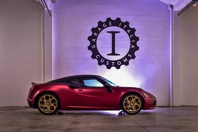 ラポ・エルカン氏のガレージ・イタリア・カスタムズが手掛けたアルファ ロメオ「4C La Furiosa」
