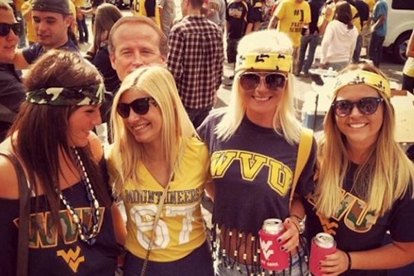 party schools, biggest party schools, party college, west virginia university