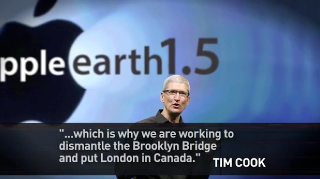 Tim Cook on The Onion