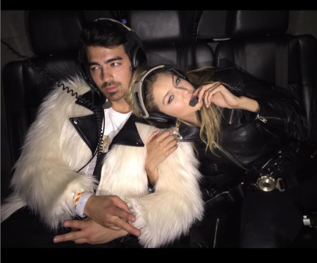 Joe Jonas Gigi Hadid Kissing