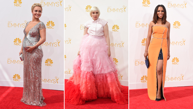 The best and worst dressed stars on the 2014 Emmy Awards red carpet