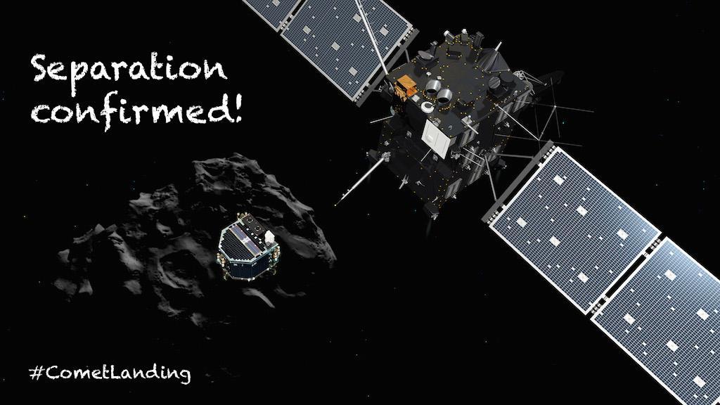Sigue en directo el primer aterrizaje de la historia sobre un cometa