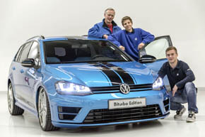 VW Golf Variant Biturbo