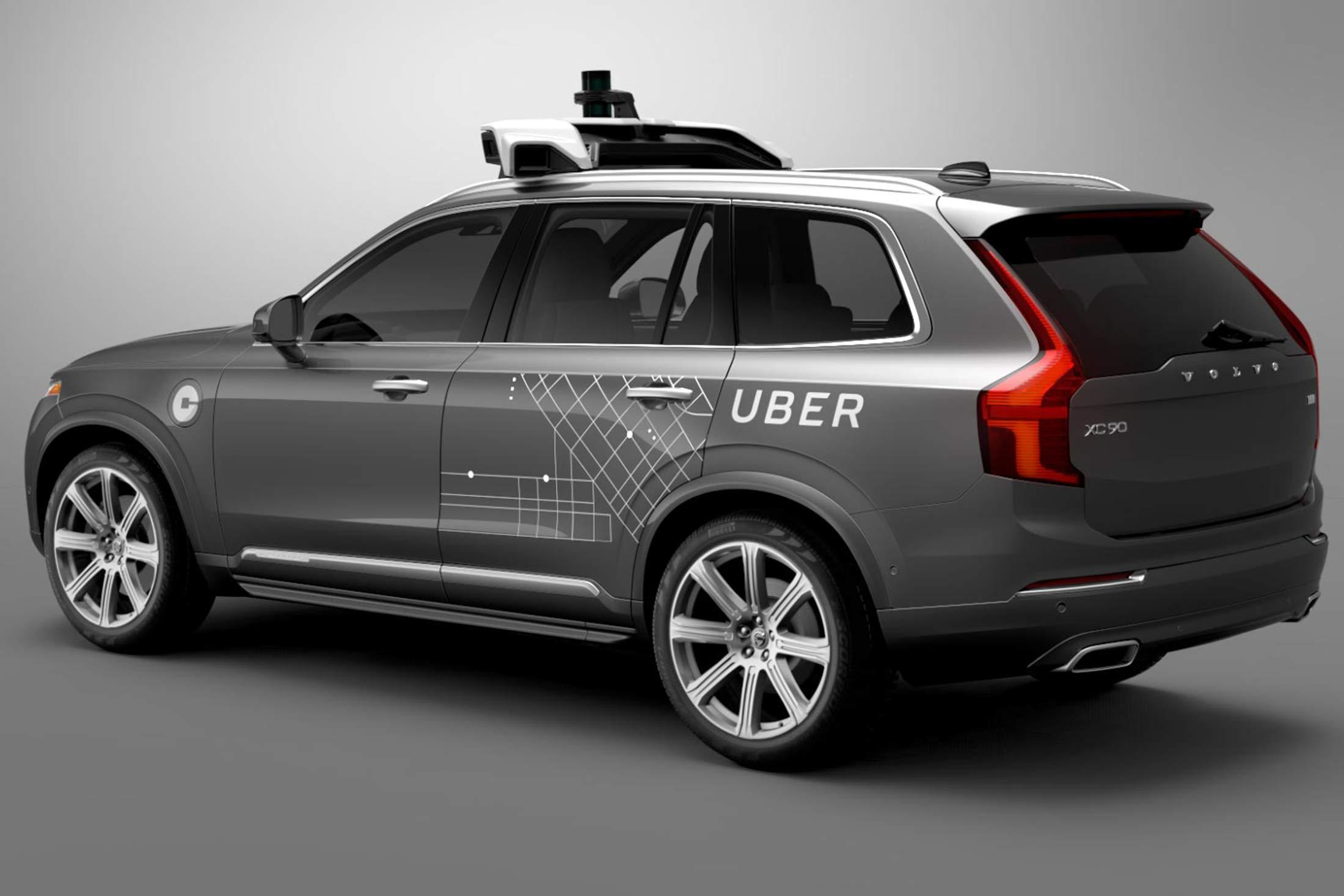 El coche autopilotado de Uber comienza sus pruebas este mismo mes
