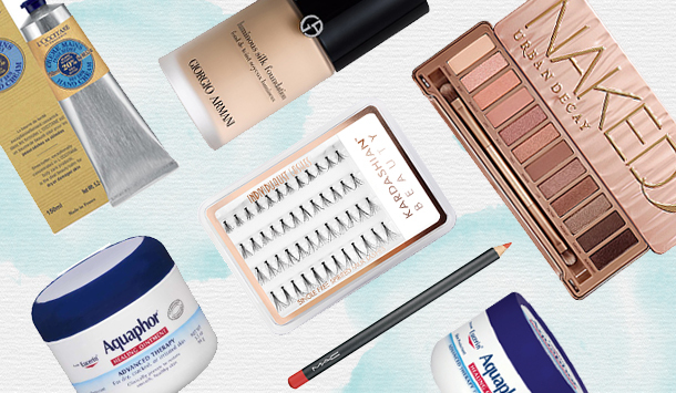 Kendall and Kylie's beauty essentials