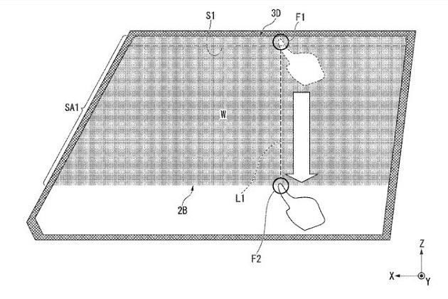 ホンダ、窓に触れるだけで遮光範囲を調節できる新しい日除けの特許を申請