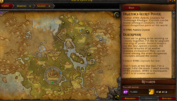 how to start draenor quests horde