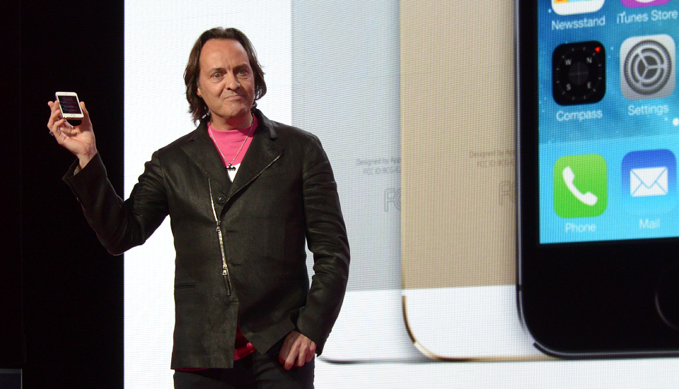 T-Mobile Test Drive lets you borrow an iPhone 5s for a week