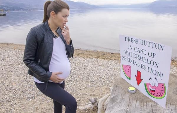 スイカの種が赤ちゃんに生まれ変わる!? ある夫婦が作った可愛らしいファンタジー動画が話題に