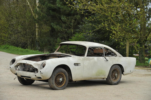 World's cheapest Aston Martin DB5 up for auction - AOL UK Cars