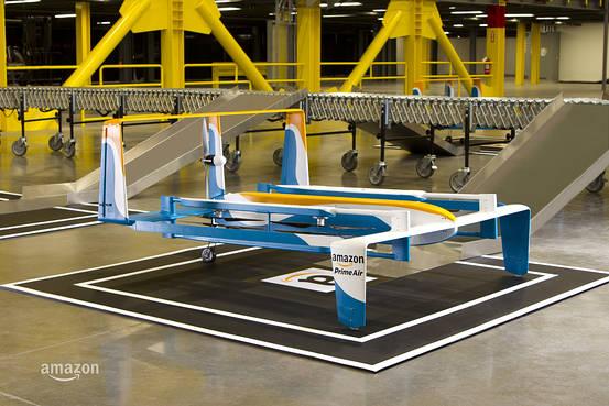Das ist Amazons neue Drohne