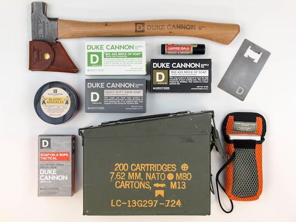 american soap and hatchet set, duke cannon gear