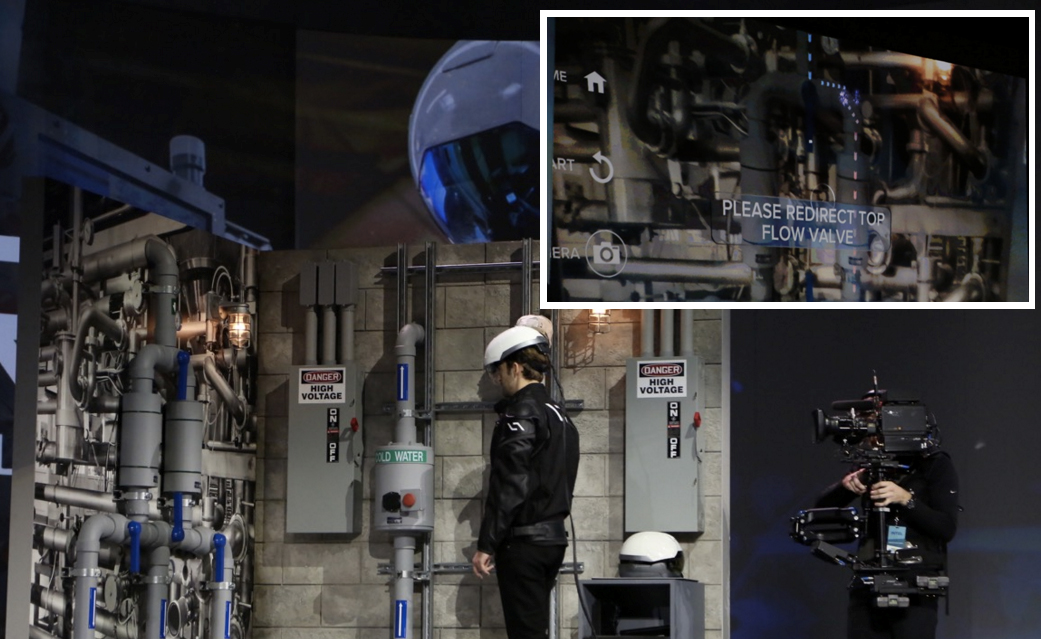 Here's an Intel-powered smart hard hat with thermal vision