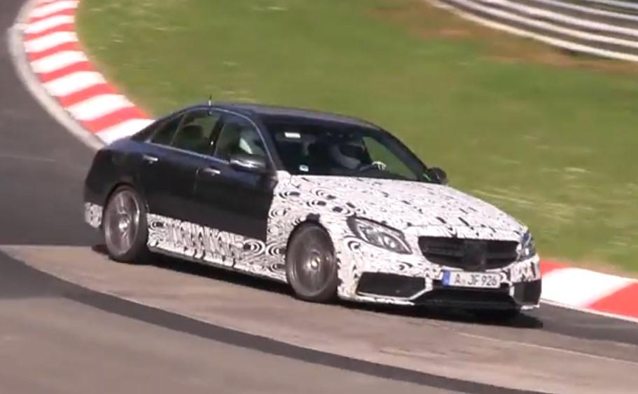 mercedes-benz, c205, c 205, c-klasse, neue c-klasse amg line, c63 amg, der neue c63 amg, rendering, mercedes von morgen, Video, Nürburgring, featured, C63 AMG, Mercedes C63 AMG