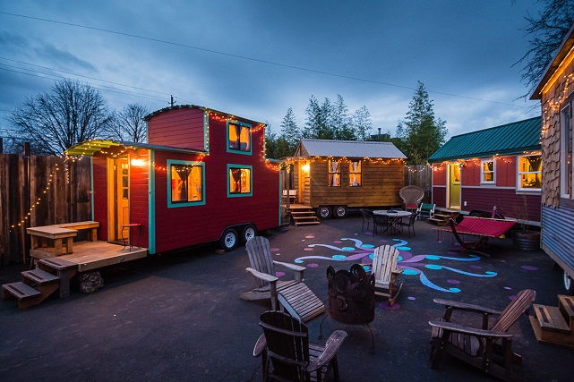 tiny house Caravan portland oregon