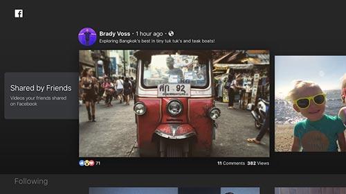 Facebook Video App für Apple TV