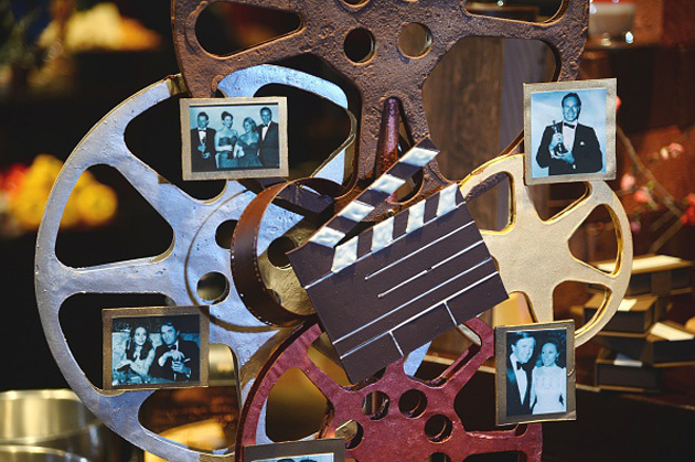 Chocolate movie reels