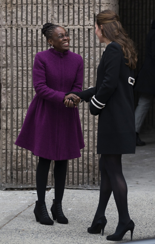 Kate Middleton meets New York's First Lady as Prince William visit Barack Obama
